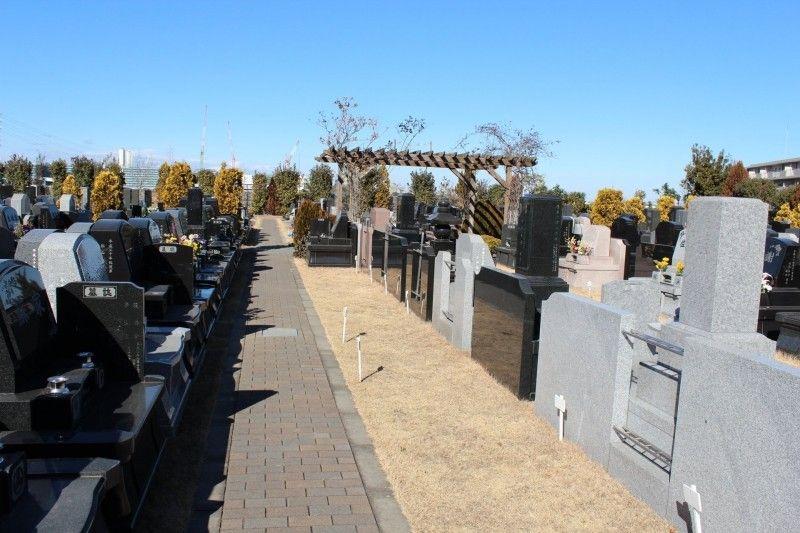 メモリアルガーデン新座 和型・洋型墓石が建立