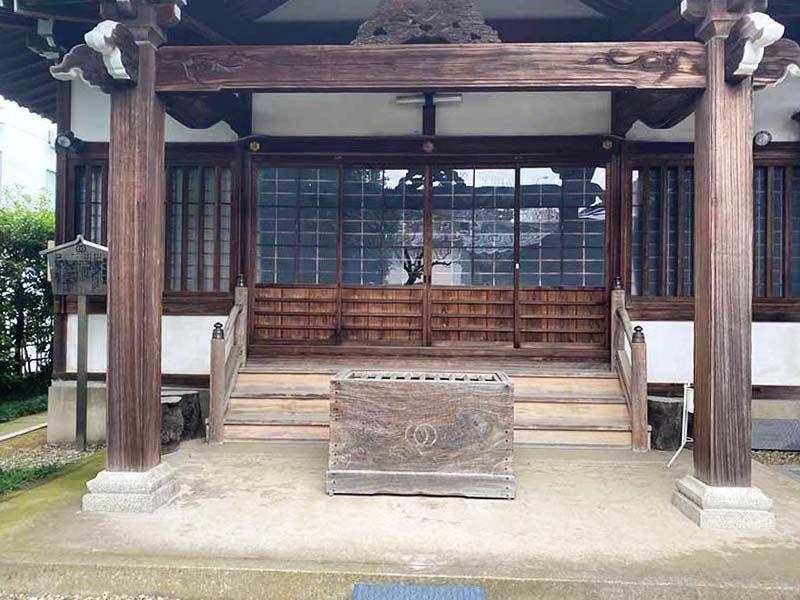 蓮乗院 本堂入口