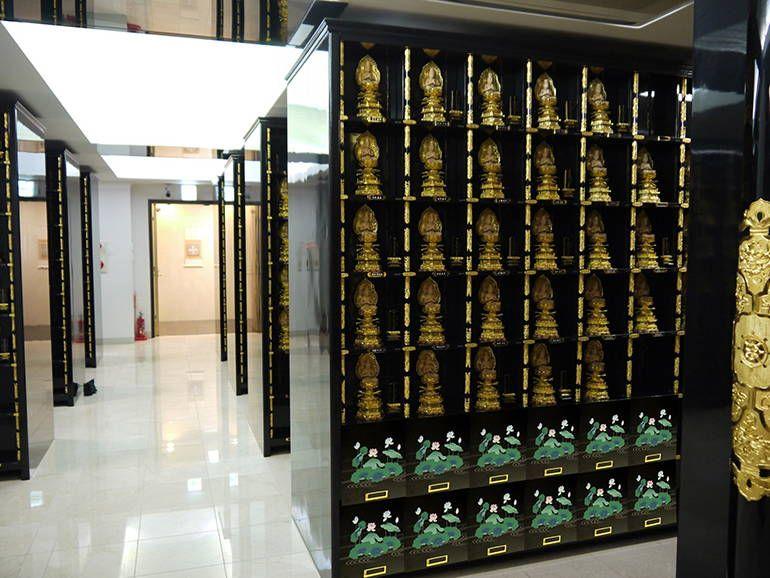 寶珠山 東福院 四ッ谷納骨堂 直接参拝式の納骨壇