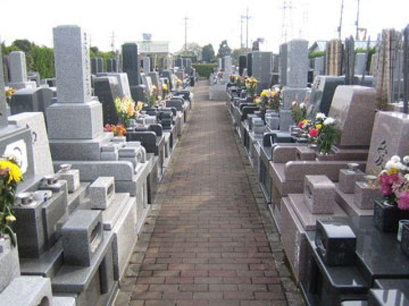 朝霞聖地霊園 和型・洋型墓石