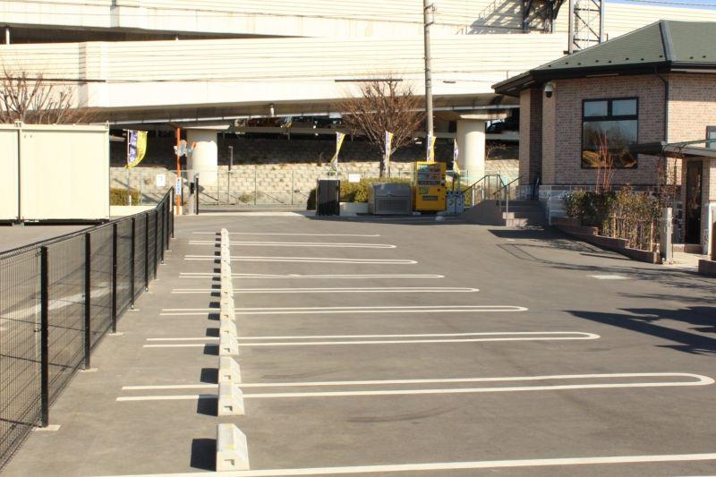 サンク川口霊園の駐車場