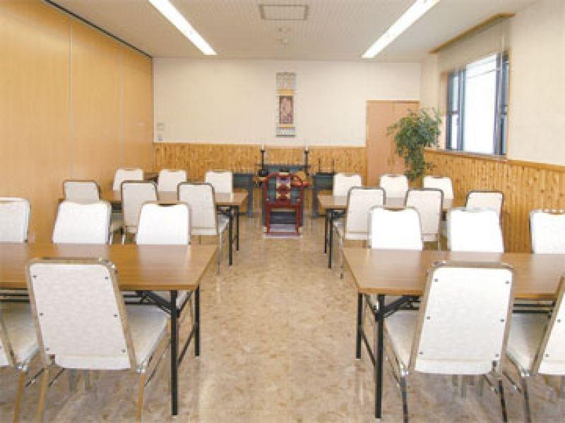 メモリアルパーク川口山王の法要施設