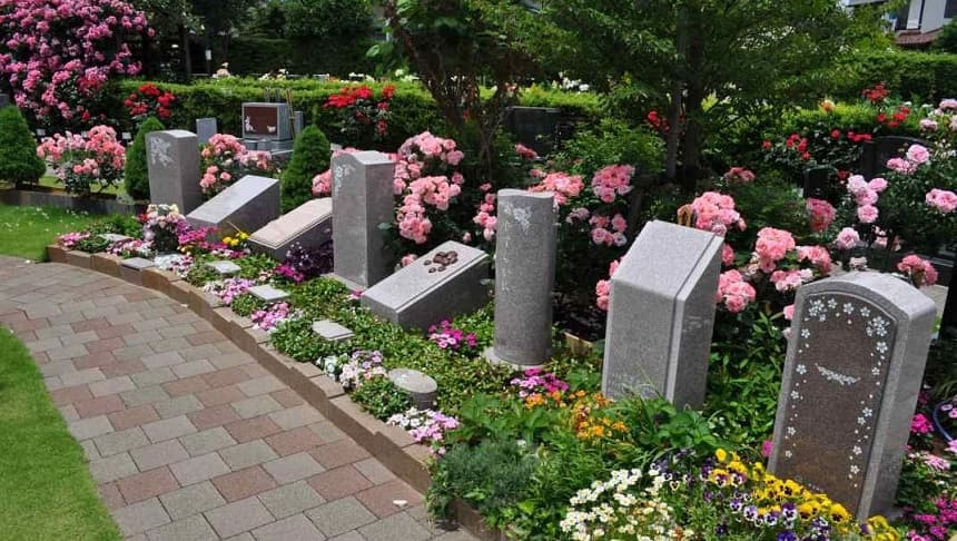 霊園タイプ個別埋葬型の樹木葬