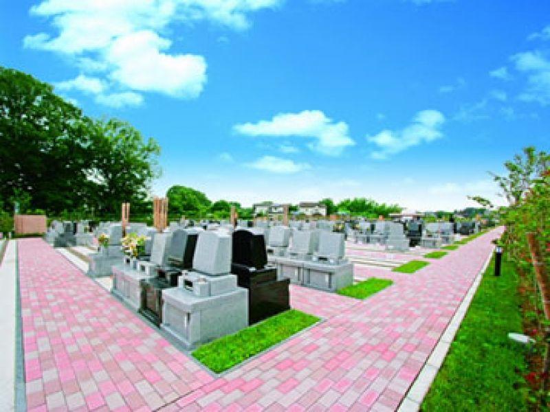 「むさしの聖地 永久の郷」の整備された墓所