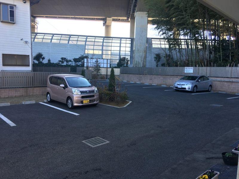 メモリアルプレイス川口の郷の駐車場