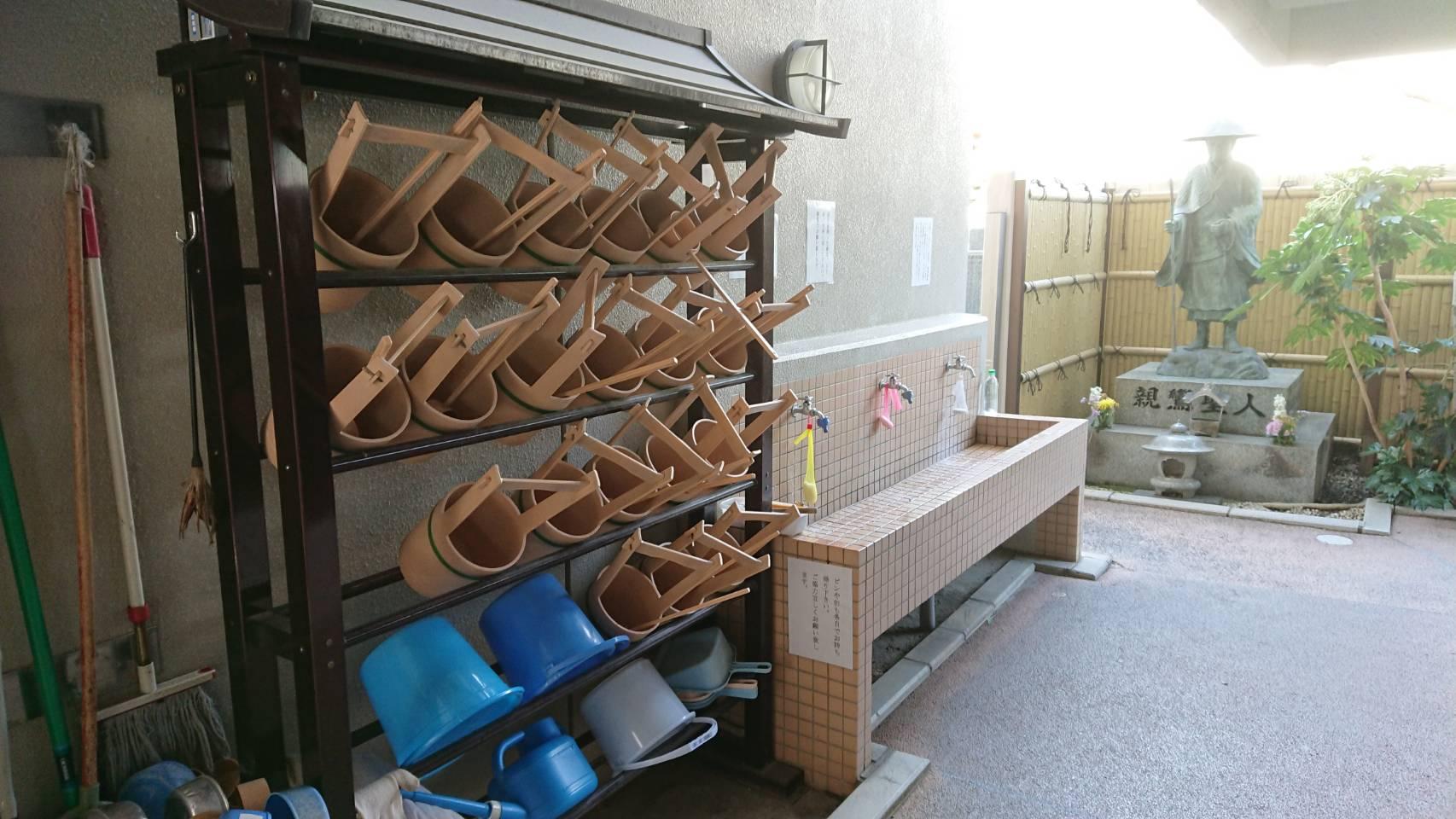 専光寺墓苑の給水設備