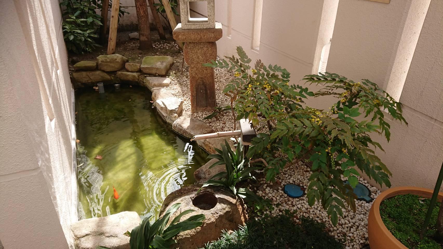 専光寺墓苑の庭苑