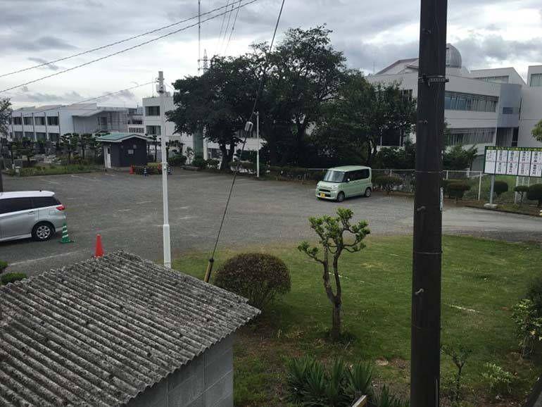 八王子市営 甲の原霊園 駐車場