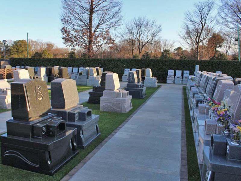 サニープレイス所沢 バリアフリー設計の墓域