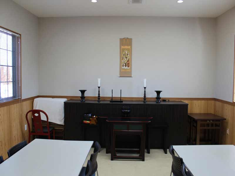 南川越霊園 法要施設