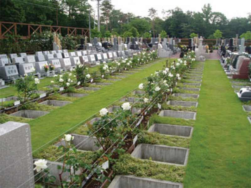 新所沢友愛聖地苑 花のある芝生墓所