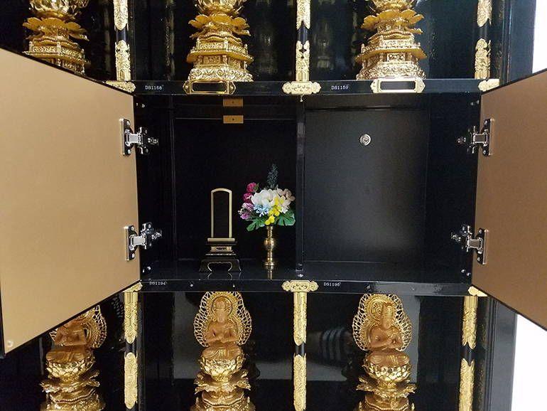 寶珠山 東福院 四ッ谷納骨堂 永代供養墓扉内部