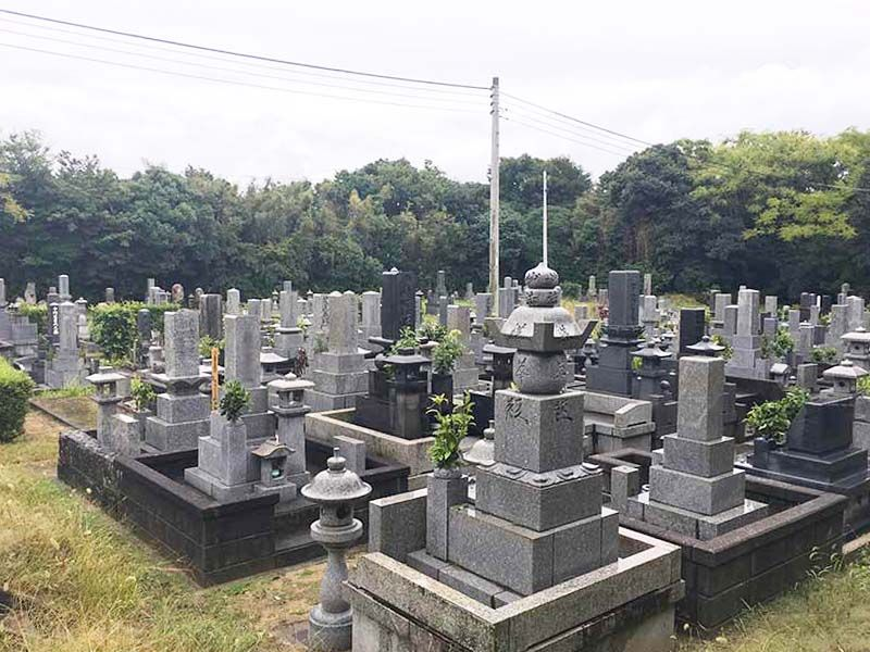 萩市営 西の浜墓地