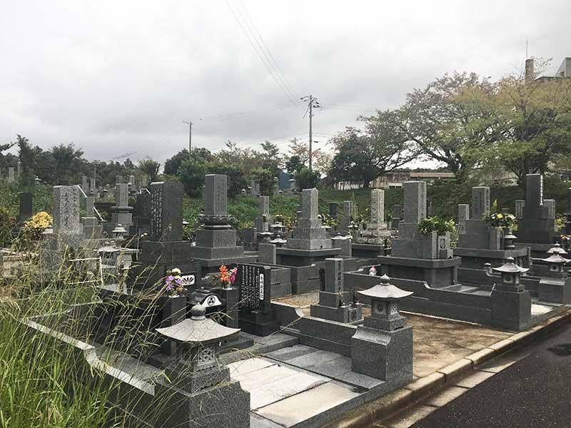 萩市営 築地墓地
