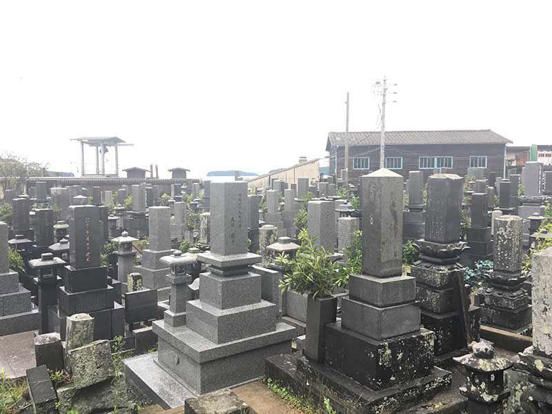 萩市営 椎原霊園