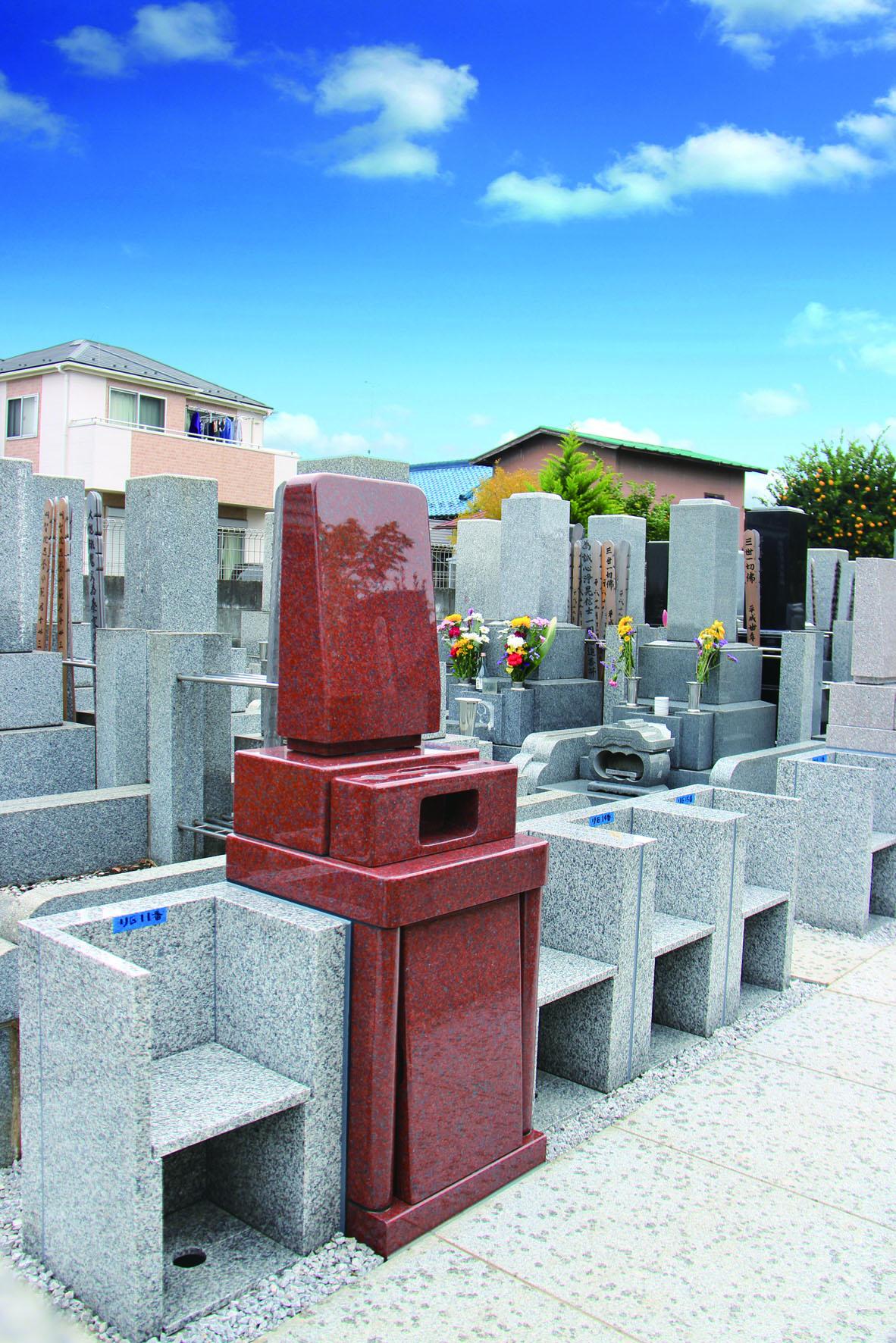 浄円寺 御影石が美しい墓石