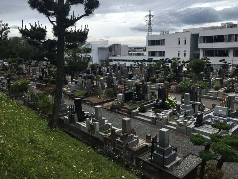 八王子市営 甲の原霊園 霊園風景①