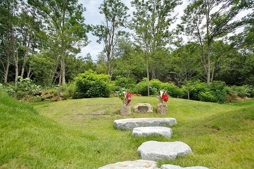 森の国墓苑 3種の樹木葬