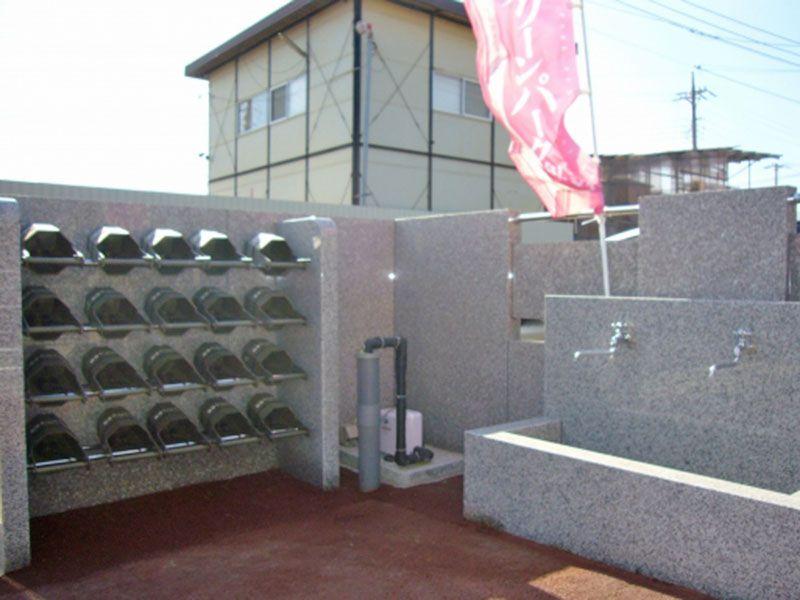 桶、水道設備完備