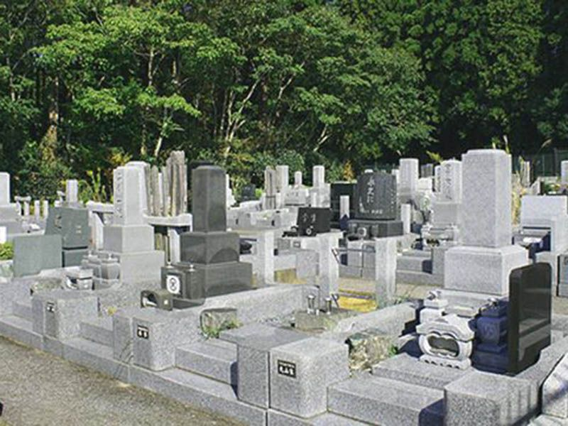 千葉緑霊園の墓地