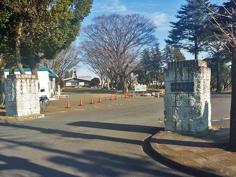 桜木霊園入口