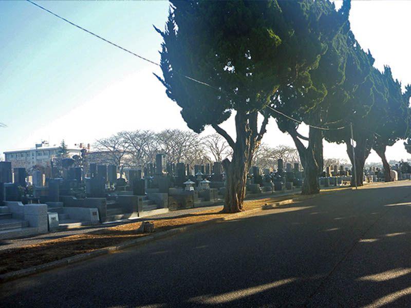 桜木霊園外観