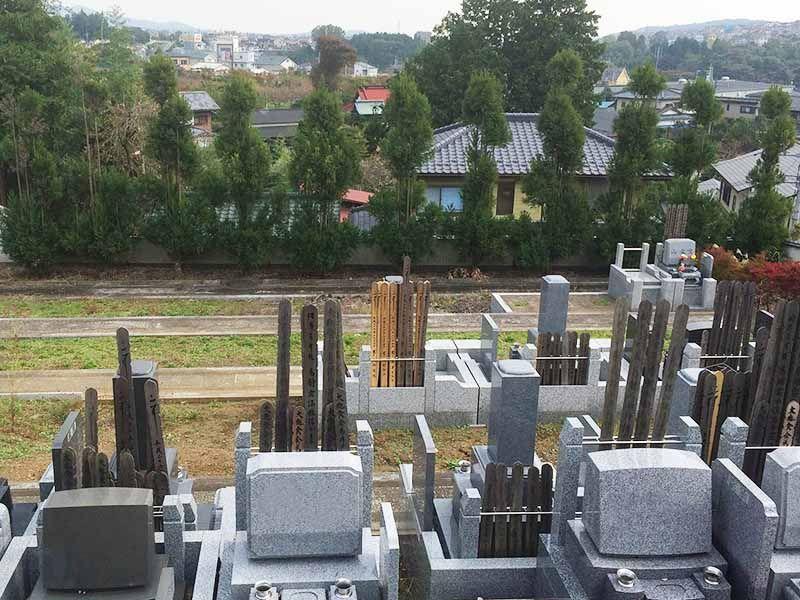 美しい景色が広がる東光墓園