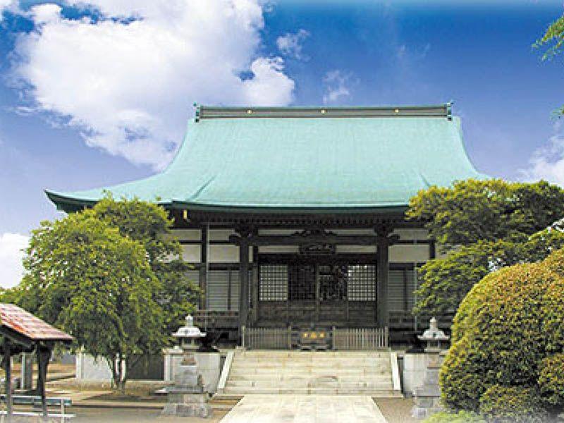 厳かな雰囲気の長妙寺霊園