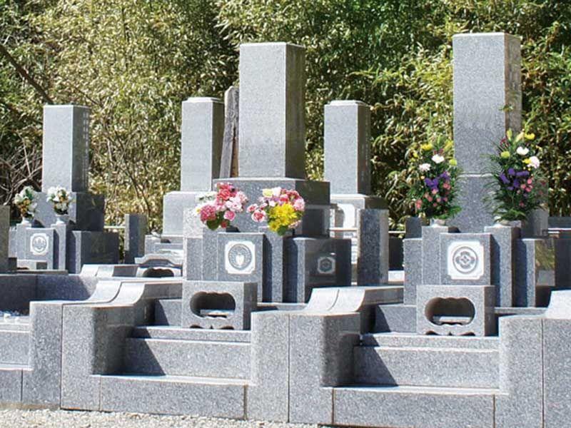管理が行き届いた墓所