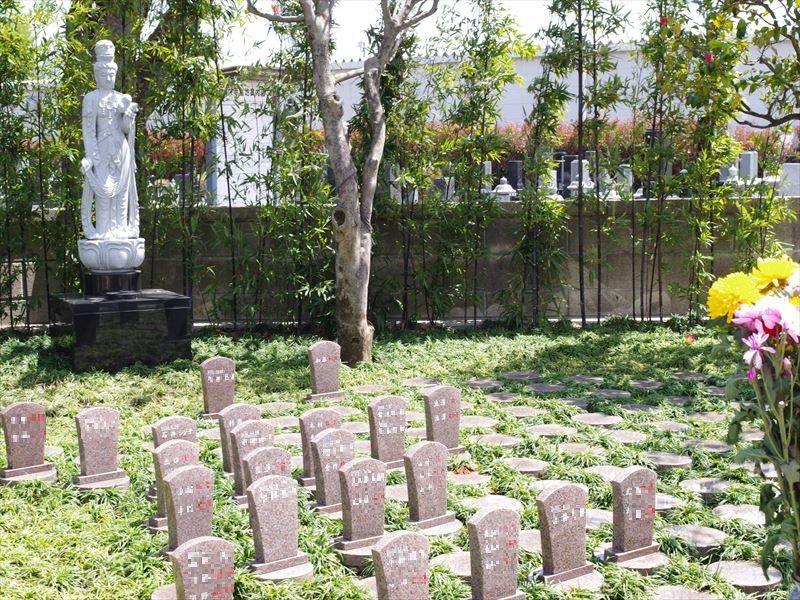 鶴ヶ島霊苑 開栄寺 永代供養墓・樹木葬 温かな雰囲気の樹木葬