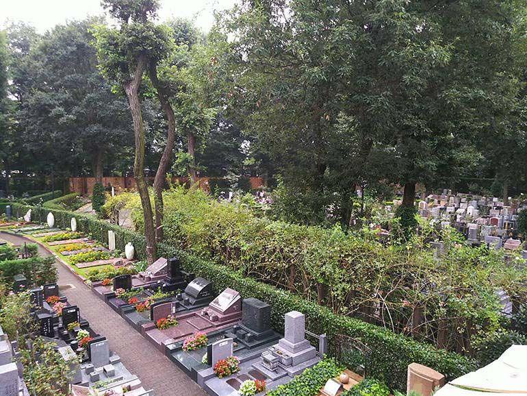 小平ふれあいパーク 緑が豊かな墓地