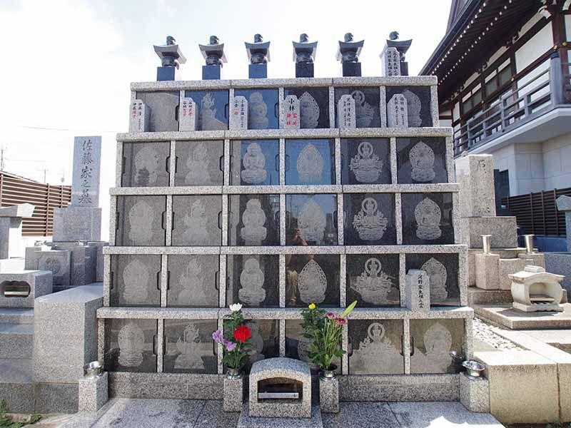 観音寺墓苑 永代供養墓 納骨スペース