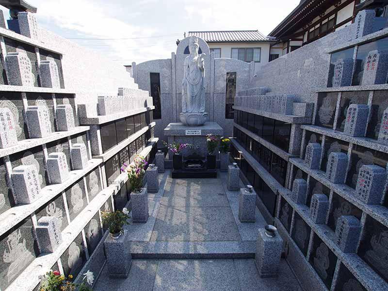 観音寺墓苑 永代供養墓 永代供養墓