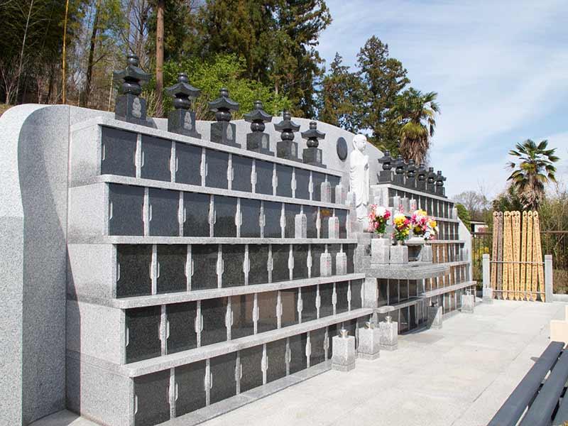 金澤寺墓苑 永代供養墓・樹木葬 屋外納骨墓