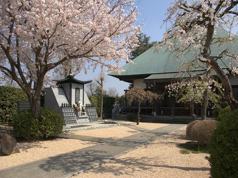浄安寺墓苑 自然豊かな庭園