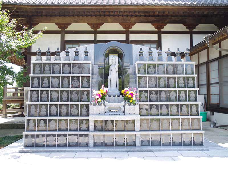 加須の杜霊苑 西浄寺 永代供養墓・樹木葬 明るい供養碑