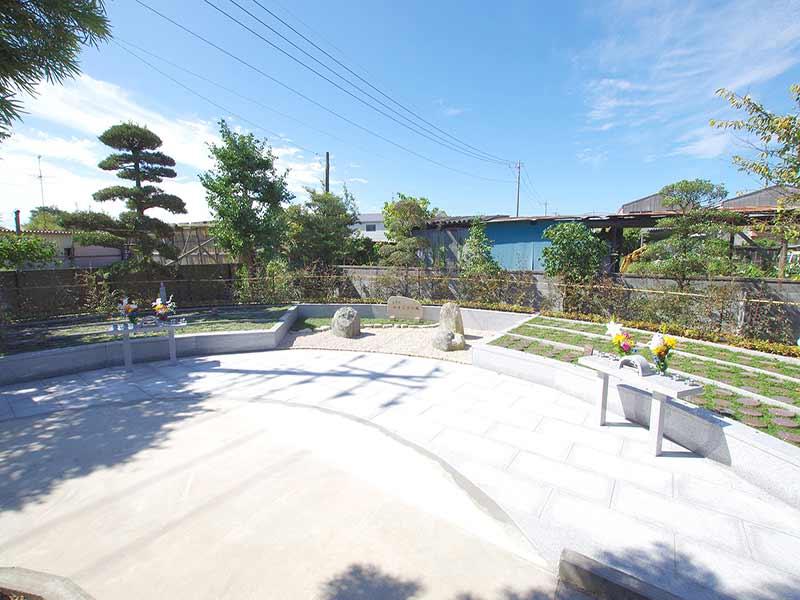 加須の杜霊苑 西浄寺 永代供養墓・樹木葬 木々に包まれる樹木葬