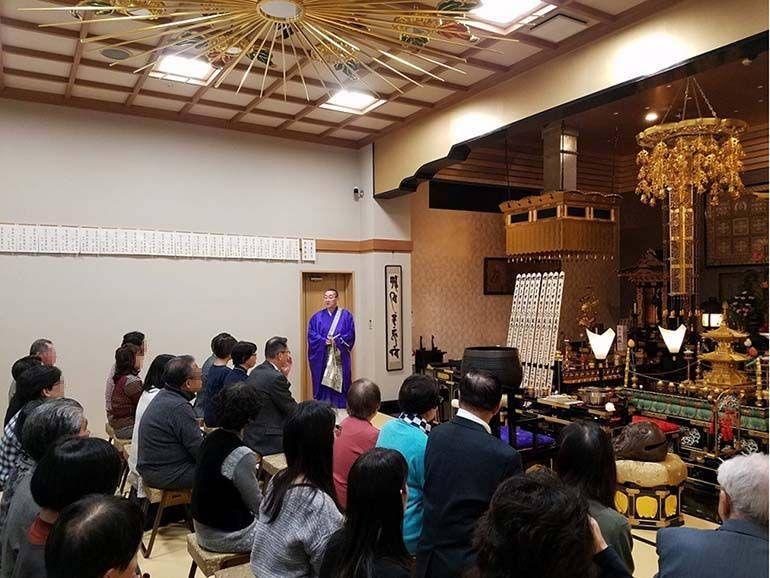 寶珠山 東福院 四ッ谷納骨堂 合同供養祭全景