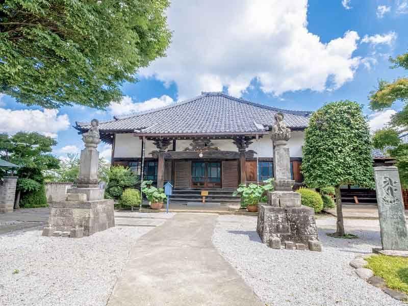 大蓮寺 永代供養墓・樹木葬 明るい雰囲気の本堂