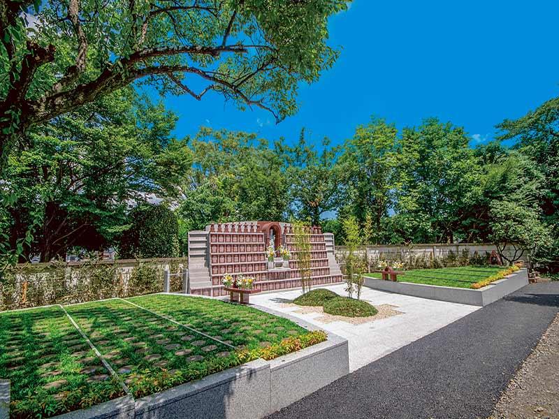 大蓮寺 永代供養墓・樹木葬 日当たり良好な墓地