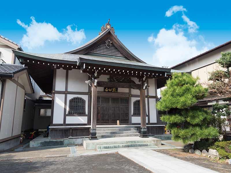 勧行寺 本堂