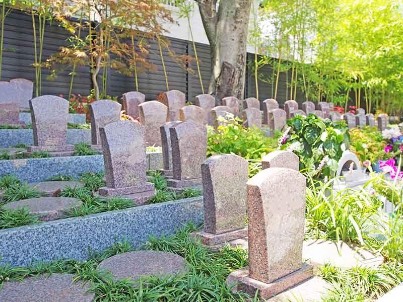 聖徳寺 しらはた浄苑 永代供養墓・樹木葬 自然豊かな樹木墓