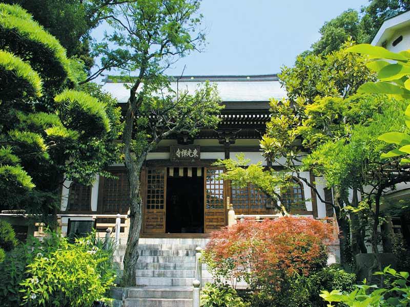 東光禅寺 永代供養墓 穏やかな雰囲気の境内