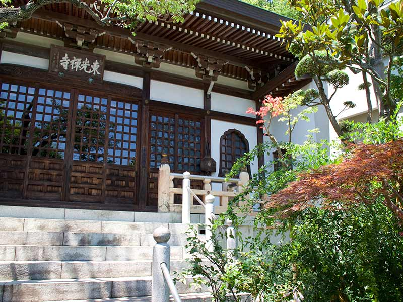 東光禅寺 永代供養墓 日当たり良好な本堂