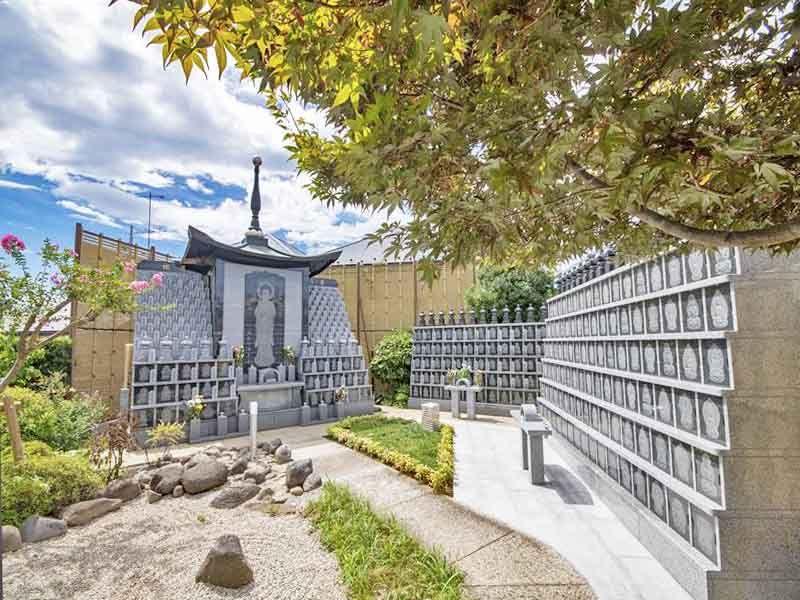 常久寺墓苑 永代供養墓 ・樹木葬