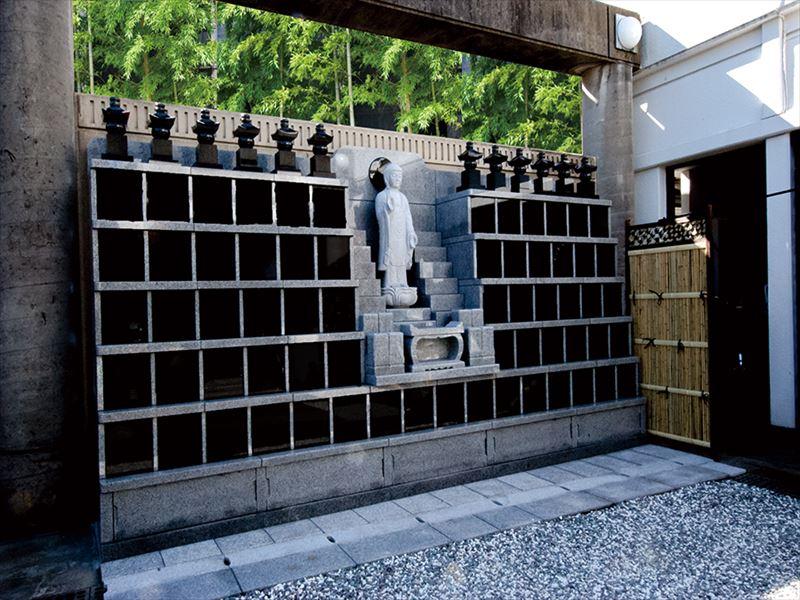 即法寺墓苑 永代供養墓 屋外納骨堂