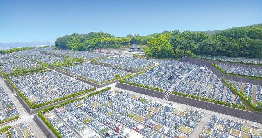大阪生駒霊園の全景