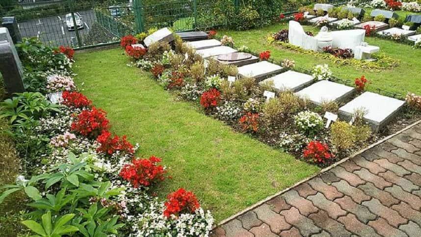 西東京墓苑の家族墓「憩(いこい)」