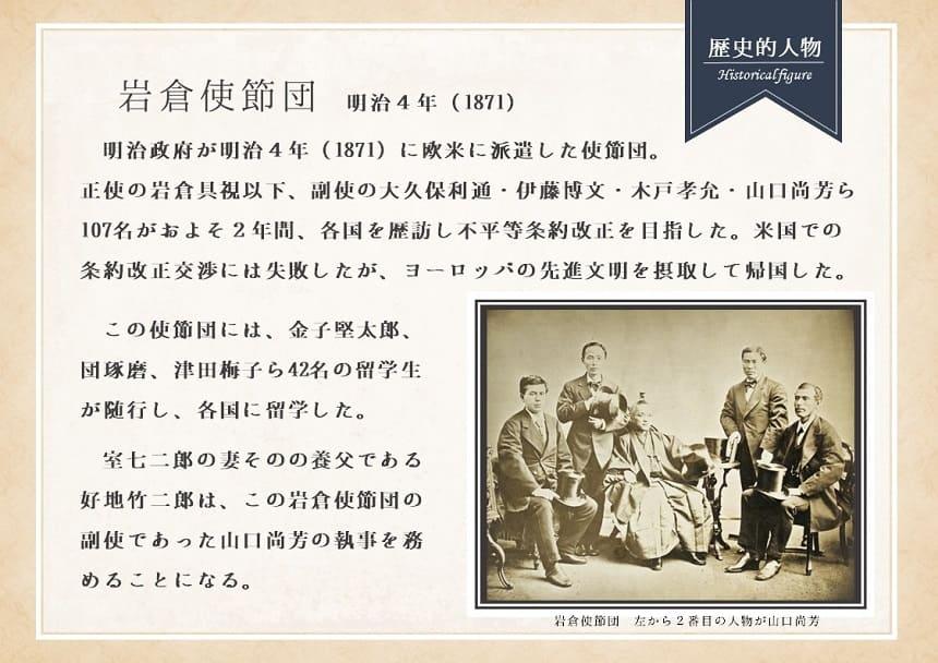 岩倉使節団に関する資料