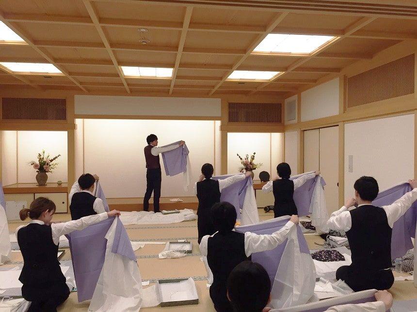 納棺の作法の授業